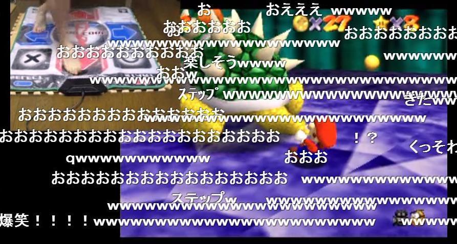 p-p(実況) 足マリオ