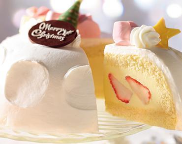 コンビニクリスマスケーキ セブンイレブンかまくら
