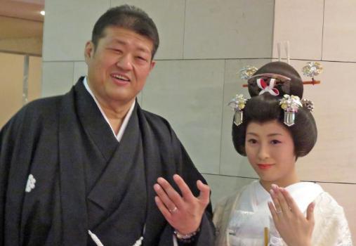 水戸泉 新妻