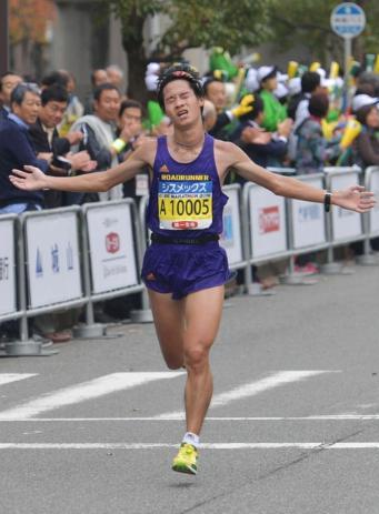神戸マラソン2016 清原和博