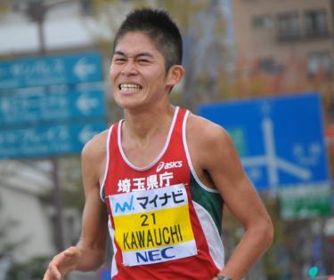 福岡国際マラソン2016 川内