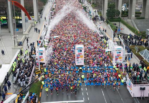 東京マラソン2017 記録タイム