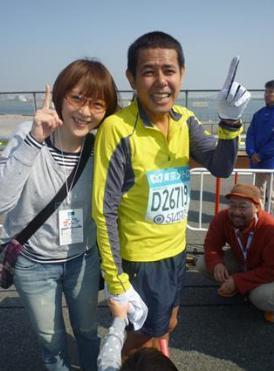 東京マラソン2017 芸能人