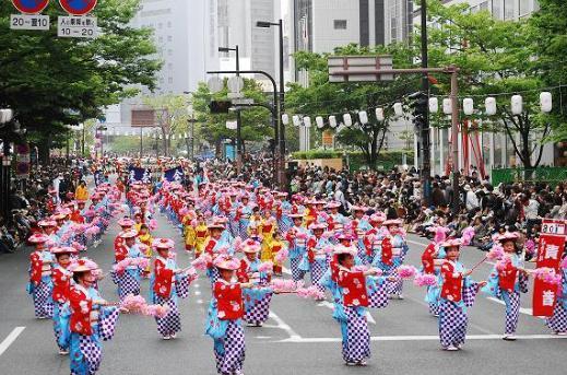 博多どんたく2017 パレード