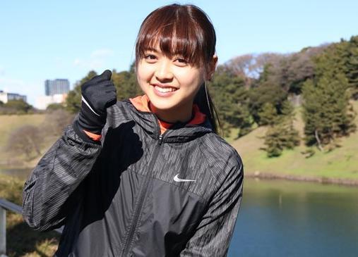 名古屋ウィメンズマラソン2017芸能人 松元絵里花