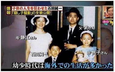 石田桃子 家族