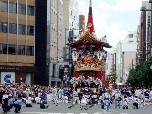 祇園祭 乗れる鉾