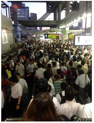 大阪天神祭2017 混雑時間攻略