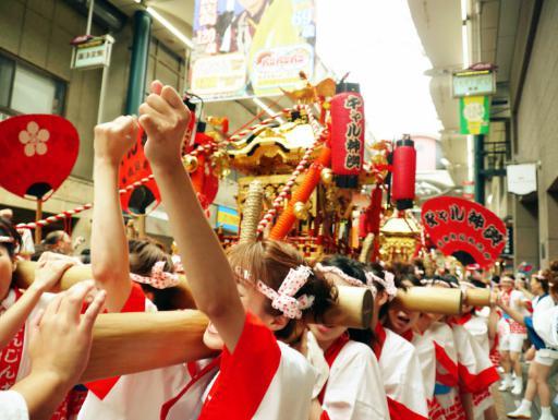 大阪天神祭2017 日程