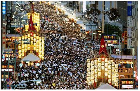 祇園祭2017 混雑状況