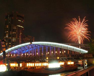 大阪天神祭2017穴場スポット 桜宮橋の南側