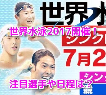 世界水泳2017ブダペスト