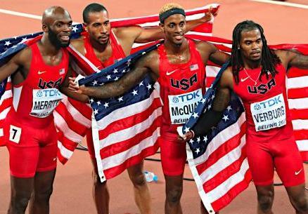 世界陸上2017 国別メダル獲得数