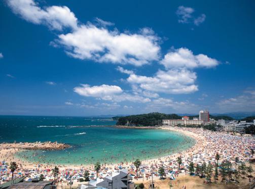 関西の海水浴場 和歌山白浜