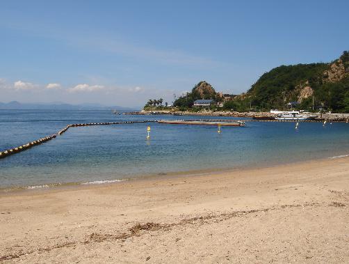 関西の海水浴場 姫路市立ノ浜