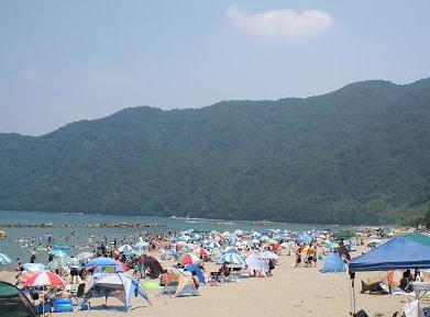 関西の海水浴場 舞鶴市神崎