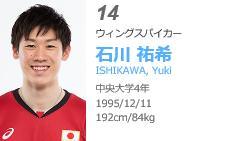 グラチャンバレー2017注目選手男子 石川