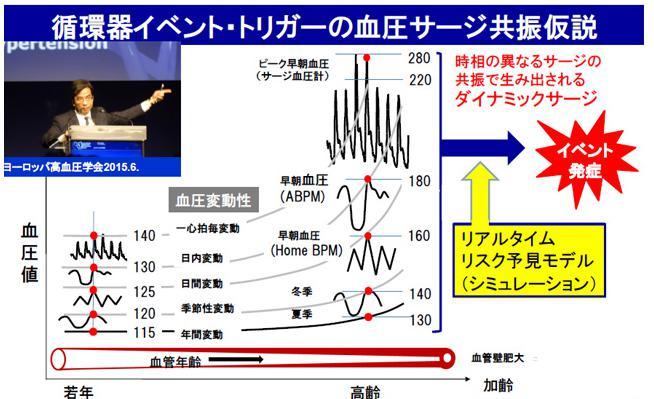 血圧サージ 共振仮説