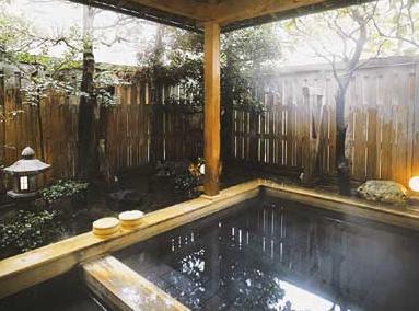 かに&温泉人気ホテル北陸古賀乃井 露天風呂