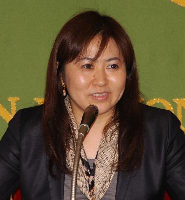 立憲民主党候補者 亀井亜紀子