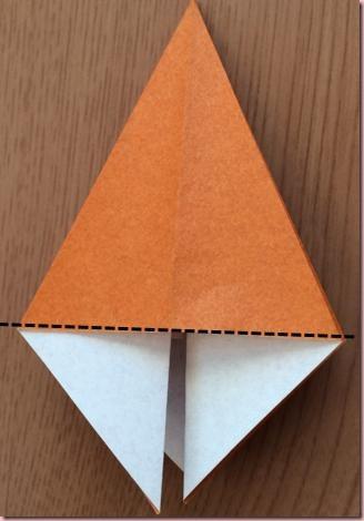 折り紙ツリー幹2
