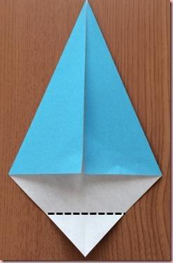 折り紙サンタ袋3