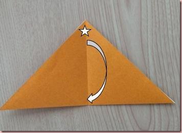 折り紙トナカイ顔3