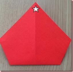 折り紙サンタ4