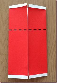 折り紙サンタ体4