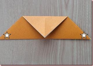 折り紙トナカイ顔4