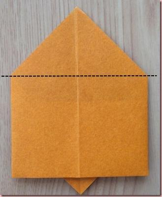 折り紙トナカイ体5