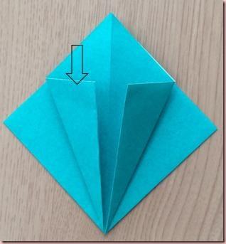 折り紙ツリー5