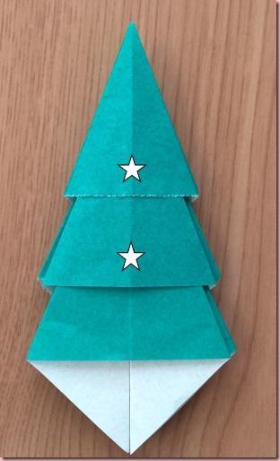折り紙ツリー8
