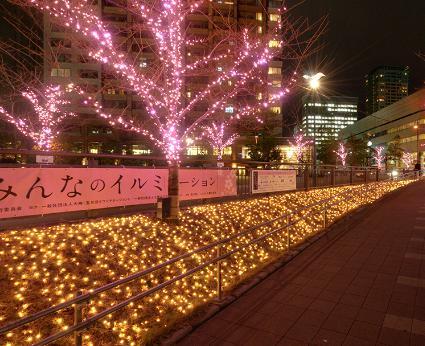 クリスマスデート 目黒川みんなのイルミネーション