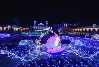 クリスマスデート 神戸イルミナージュ