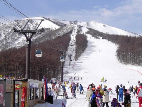 スキー場ゲレンデ2017-2018 あだたら高原