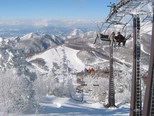 スキー場ゲレンデ2017-2018 志賀高原