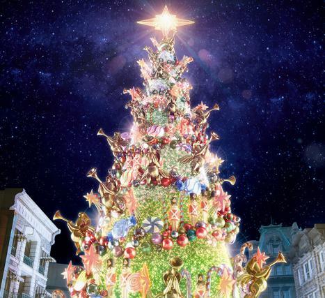 ユニバーサルワンダークリスマス2017 時間帯