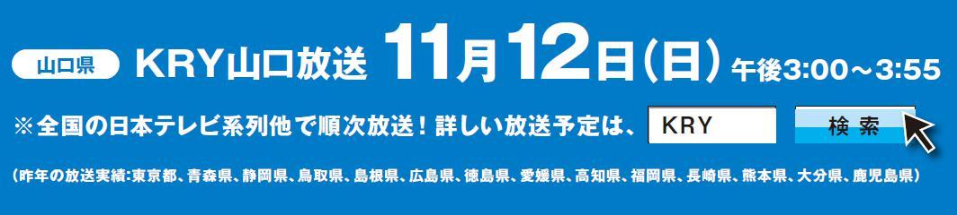 下関海響マラソン2017 テレビ放送
