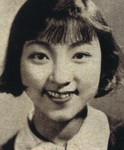 明日待子(日本初のアイドル) 若い頃画像