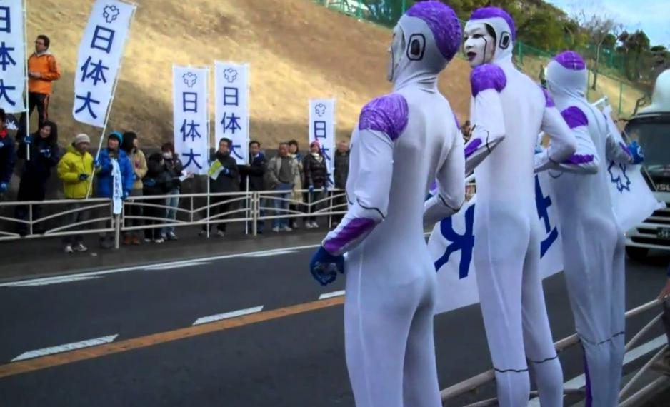 箱根駅伝2018 フリーザ様出現場所