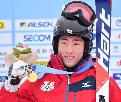 平昌オリンピックアルペンスキー日本代表選手 小山