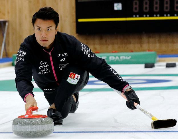 平昌オリンピックカーリング男子代表 山口