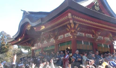 鶴岡八幡宮の豆まき 時間