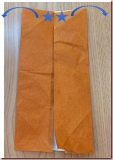 折り紙メダル作り方3