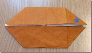 折り紙メダル作り方5