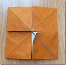 折り紙メダル作り方7