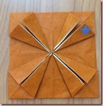 折り紙メダル作り方8