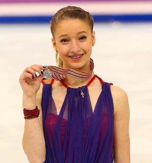 平昌オリンピックフィギュアスケート海外美人選手 ソツコワ