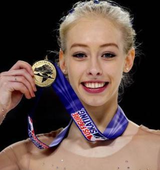 平昌オリンピックフィギュアスケート海外美人選手 ブレイディ